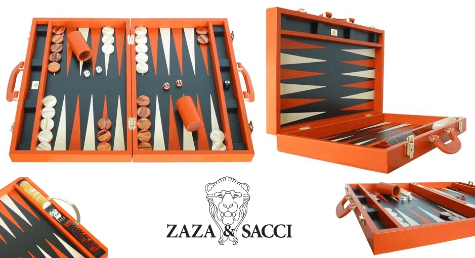 Backgammon Set by Zaza & Sacci