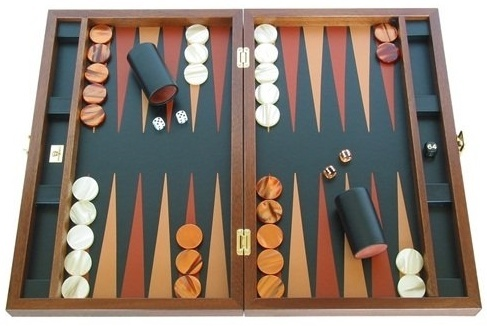 Zaza & Sacci Luxury Wood Backgammon Board