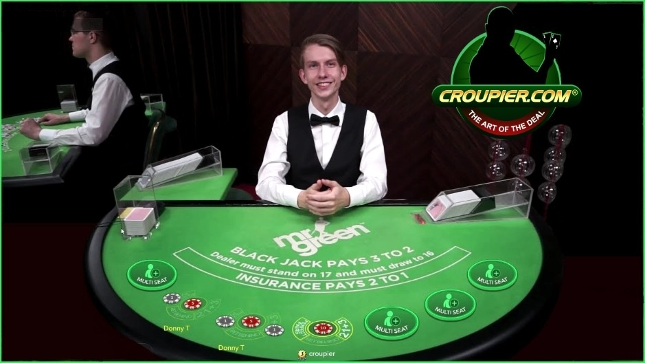 Live Casino Blackjack Meets World of Warcraft at Mr Green