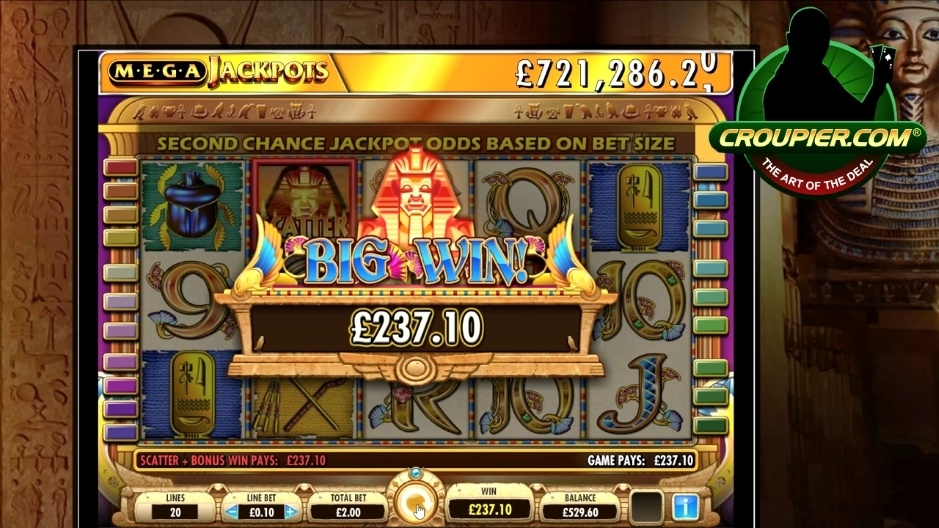 Cleopatra Mega Progressive Jackpot Online Slots vs £300 Real Money Play Mr Green Online Casino