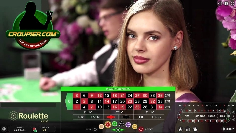 Live Casino Roulette vs £2,500 Real Money Play at Mr Green Online Casino