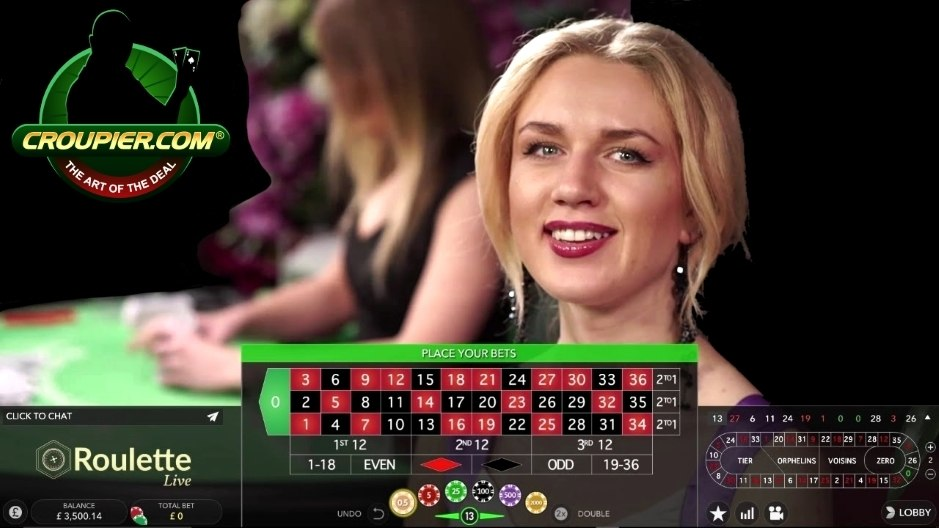 Live Roulette Dealer vs £3,500 Real Money Play at Mr Green Online Casino!