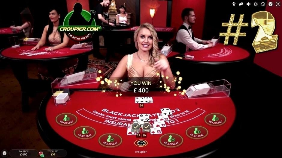 Online BLACKJACK VIP Dealer £100 MINIMUM BETS PART 2 Real Money Play at Mr Green Online Casino