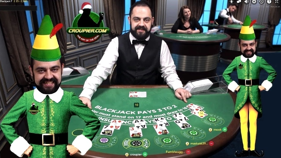 Online Blackjack Dealer Cezar Vs 2 000 Bankroll Side Bets And