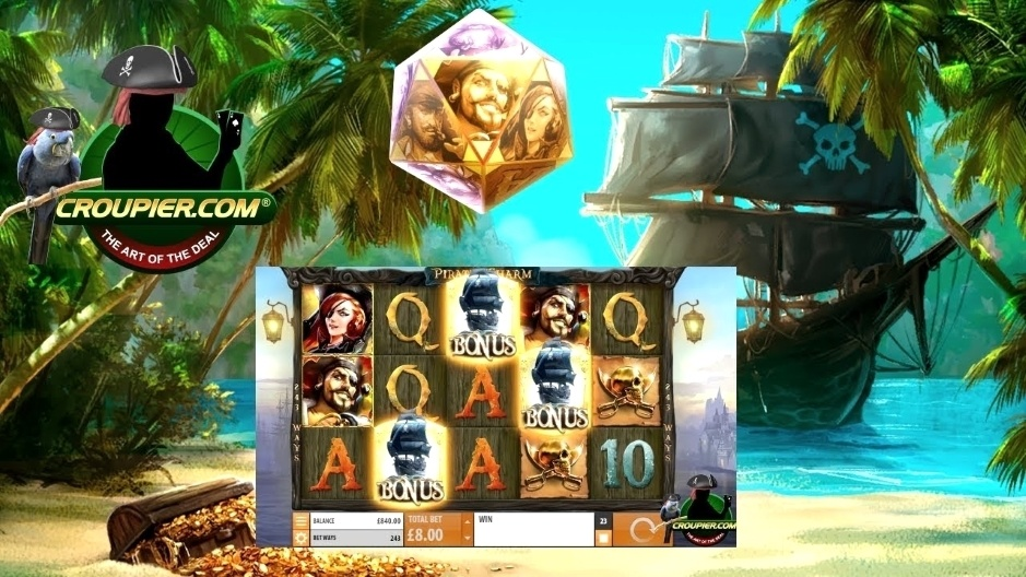 HIGH STAKES ONLINE SLOTS £6 to £60 Spins! BIG WIN PIRATES CHARM BONUS! Mr Green Casino!